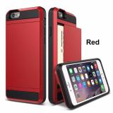 Best Offer Damda Slide Card Case Casing Cover For Iphone 6 Plus 6S Plus Red