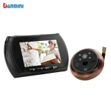 Sale Danmini Smart Digital Door Viewer Peephole Camera With Pir Motion Detection Night Vision Dnd Function 4 3 Inch Hd Color Screen