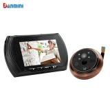 Price Danmini Smart Digital Door Viewer Peephole Camera With Pir Motion Detection Night Vision Dnd Function 4 3 Inch Hd Color Screen Oem Online
