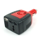 Compare Prices For Dc12V To Ac 220V Portable Car Suv Power Inverter Usb Charger Converter 150W Intl