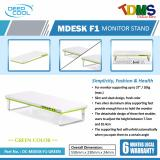 Sales Price Deepcool M Desk F1 Monitor Stand Green