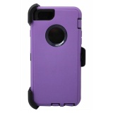 Discount Defender Shockproof Case For Apple Iphone 5C With Screen Protector Belt Clip Fits For Otterbox Purple Black Intl China