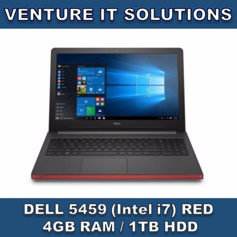 DELL 5459/ INTEL CORE I7-65002.5GHZ MAX 3.1 GHZ / 4GB RAM / 1TBHDD / 4GB RADEON GRAPHICS/ 14HD LED DISPLAY/ WINDOWS 10