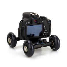 Desktop Dolly Slider Dslr Truck Slider Skater Wheel Table Kit Dslr Dolly Camera Car For Video Camera Dslr Accessories Intl Cheap