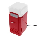 Best Desktop Mini Usb Beverage Cans Cooler And Warmer Refrigerator Fridge Intl