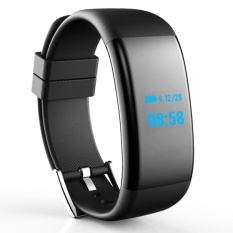 Review Df30 Waterproof Smart Bracelet With Heart Rate Oxygen Monitor Black Intl China