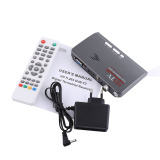 Digital 1080P Hd Hdmi Dvb T2 Tv Box Tuner Receiver Converter Remote Control With Vga Port Intl For Sale