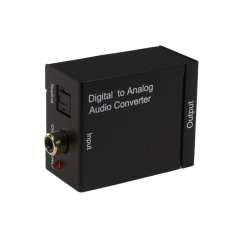 Digital Optical Coaxial To Analog Rca Audio Converter Eu Plug Cheap