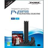 Compare Prices For Dobe Ps4 Ps4 Slim Ps4 Pro Multifunctional Cooling Stand Fan Mount Games