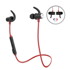 Dodocool Magnetic Wireless Stereo Sports In Ear Headphone With Hd Mic Cvc 6 Noise Cancellation For Most Bluetooth Enabled Smart Devices Red Intl Best Price