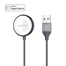Purchase Dodocool Mfi Certified 1M 3 3Ft Nylon Braided Magnetic Charging Cable Charger Cord For 38Mm 42Mm Apple Watch Series 3 Apple Watch Series 2 And Apple Watch Series 1 Scratch Resistant Zinc Alloy Housing Gray Intl Online