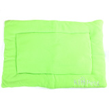 Cheaper Dog Crate Mat Kennel Cage Pad Bed Green Size L