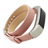Double Tour Leather Watch Band Strap Bracelet For Fitbit Alta Hr Sb Intl Inesshop Cheap On Singapore