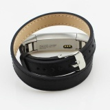 Sale Double Tour Leather Watch Band Strap Bracelet For Fitbit Alta Hr Sb Intl Online On China