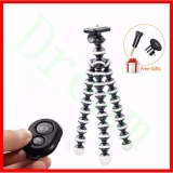 Low Cost Dream Medium Flexible Digital Camera Table Desk Tripod Stand Mini Tripod Mobile Gorillapod And Phone Clip With Remote Intl