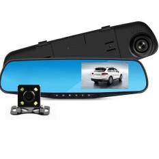 Sale Dual Camera Car Dvr Rearview Mirror Dash Cam Full Hd 1080P Front Back Camera Hd Dvr