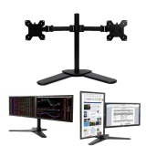 Brand New Dual Monitor Arms Desk Mount Stan Heavy Duty Fully Adjustable Screens Up To 27 Intl