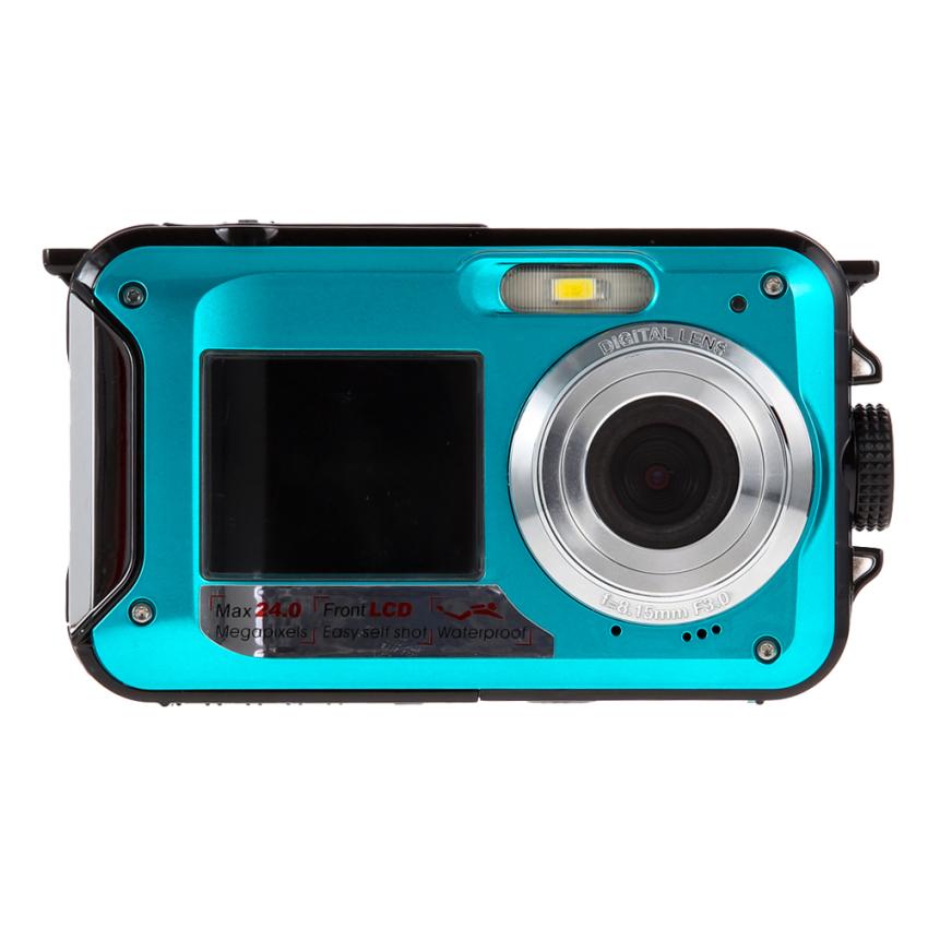 Price Dublescreen Hd 24Mp Waterproof Digitalvideocamera 1080P Dv 16X Digital Zoom Oem New