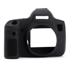 Durable Silicone Rubber Protector Bag Body Camera Cover Case Skin For Canon 6D Black - intl