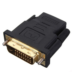 Compare Dvi Male To Hdmi Female M F Adapter Gold Plated Converter For Hdtv Prices