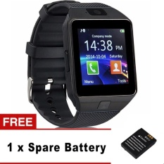 Low Price Dz09 Bluetooth Smart Watch Sim Insert Anti Lost Call Reminder For Android Ios Intl