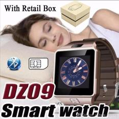 Dz09 Bluetooth Smartwatch With Camera Sim Card Micro Sd Card Support For Iphone Android Etc For Sale