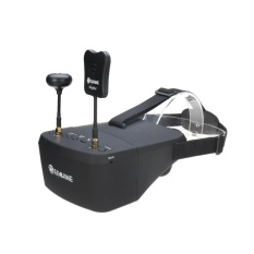 Eachine Ev800d 5.8g 40ch Diversity Fpv Goggles 5 Inch 800*480 Video Headset Hd Dvr Build In Battery - Intl By Audew.