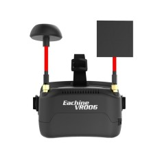 Eachine Vr006 Vr-006 3 Inch 500*300 Display 5.8g 40ch Raceband Mini Fpv Goggles Build In Battery - Intl By Five Star Store.