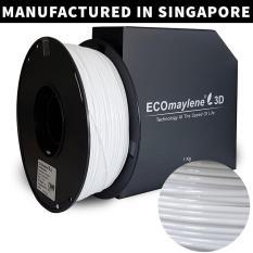 ECOmaylene3D - PLA 1.75mm La Salle White 1KG