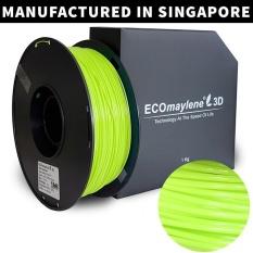 Compare Price Ecomaylene3D Pla 1 75Mm Lemon Chiffon Yellow1Kg On Singapore
