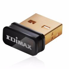 Sale Edimax Ew 7811Un 150Mbps 11N Wi Fi Usb Adapter Nano Size Lets You Plug It And Forget It Ideal For Raspberry Pi Pi2 Supports Windows Mac Os Linux Black Gold L Store Wholesaler