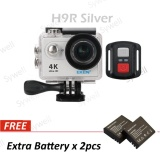 Eken H9R 4K Action Camera Wifi Sports Cam Remote Control Shutter Free 2Pcs X Battery Intl On Hong Kong Sar China
