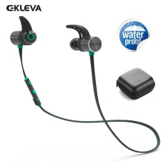 Buy New Magnetic Bluetooth Earbuds Dual Battery 10 Hours Play Time Hifi Stereo Ipx 5 Waterproof Earphone Sport Wireless Headphones China