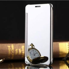Elaike Case For Xiaomi Mi Note 2 Clear View Mirror Flip PC Hard Leather Phone Case