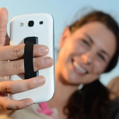 Elastic Band Stuck To Mobile Phone & Strap Touch Holder Finger Ring Handle Device Sling Grip For Smart Iphone - Intl.