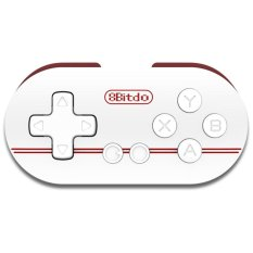 Cheaper Elec 8Bitdo Zero Mini Controller Portable Bluetooth White Wireless Gamepad New Intl