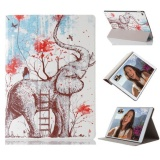 Sale Elephant Pattern Ultra Slim Stand Leather Back Cover Case For Ipad Pro 12 9Inch Intl Not Specified Branded