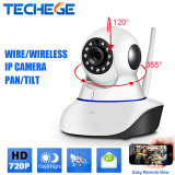 Email Alarm Security Hd 720P H 264 Ip Camera P2P Pan Tilt Ir Cut Wifi Wireless Network Ip Security Camera Robot Baby Monitor Abs Plastic Ptz Night Vision Intl Discount Code