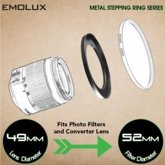 Emolux 49mm To 52mm Camera Lens To Filter Step Up Ring.
