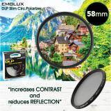 Price Comparisons Of Emolux Digital Slim 58Mm Circ Polarizer Cpl Camera Lens Filter