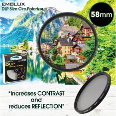 Best Emolux Digital Slim 58Mm Circ Polarizer Cpl Camera Lens Filter