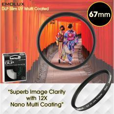 Compare Price Emolux Digital Slim 67Mm Ultraviolet Uv Multi Coated Camera Lens Filter On Singapore