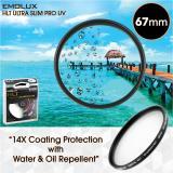 Emolux Digital Ultra Slim 67Mm Ultraviolet Uv Water Oil Repellent Mc Camera Lens Filter Sale