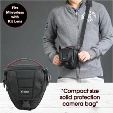 Emora Scimitar Compact Toploader Ultra Protection Holster Bag For Mirrorless Cameras Canon Nikon Olympus Sony Panasonic Pentax.