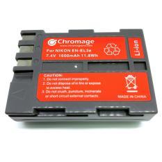 Sale Nikon En El3E Rechargeable Lithium Ion Battery Chromage Brand En El3 With 1 Year Warranty Online On Singapore
