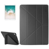 Best Price Enkay For Ipad Pro 10 5 Inch Lambskin Texture Silicone Bottom Case Horizontal Deformation Flip Leather Case With Three Folding Holder And Sleep Function Black Intl