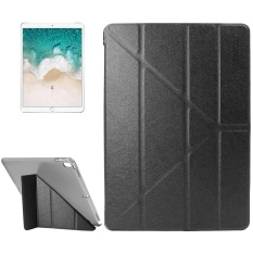Top Rated Enkay For Ipad Pro 10 5 Inch Silk Texture Plastic Bottom Case Horizontal Deformation Flip Leather Case With Three Folding Holder And Sleep Function Black Intl