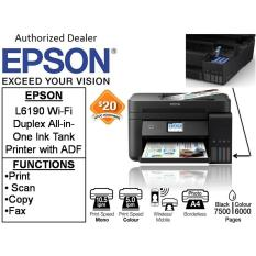 Best Epson L6190 Free 20 Ntuc Voucher Till 1 September 2018 Wi Fi Duplex All In One Ink Tank Printer With Adf