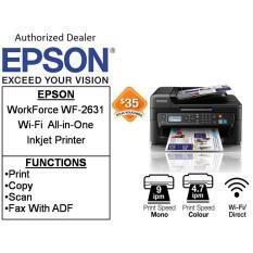 Where Can I Buy Epson Workforce Wf 2631 Free 20 Ntuc Voucher Till 1 September 2018 Wi Fi All In One Inkjet Printer