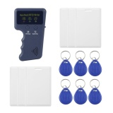 Discount Era Safety Handheld 125Khz Rfid Copier Writer Rfid Duplicator Em Id Copier Blue 6 Buckles Intl